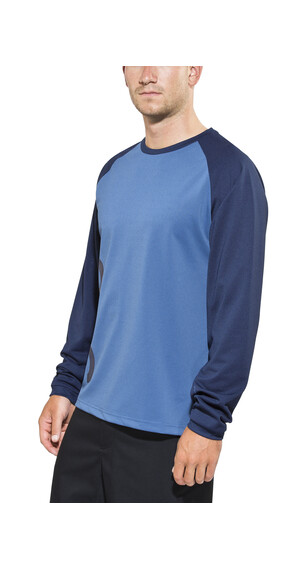 POC Flow Koszulka kolarska Mężczyźni niebieski